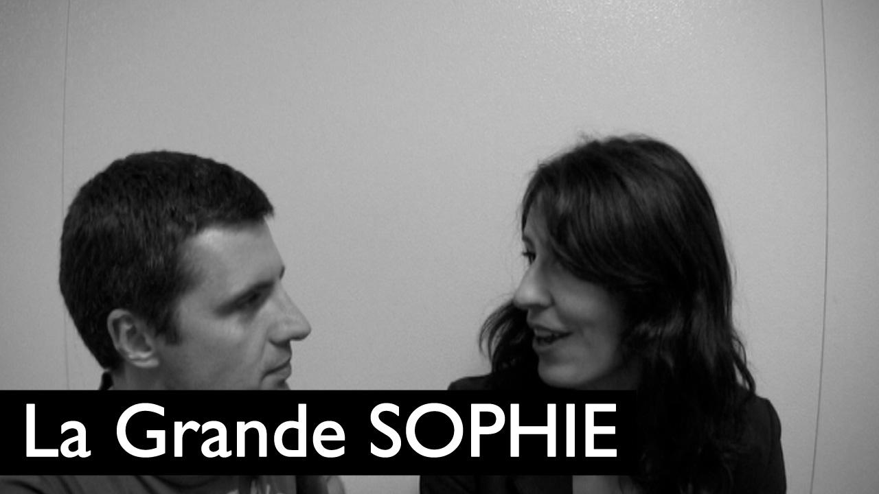 BSF 2009 : Rencontre avec La Grande Sophie (VIDEO)