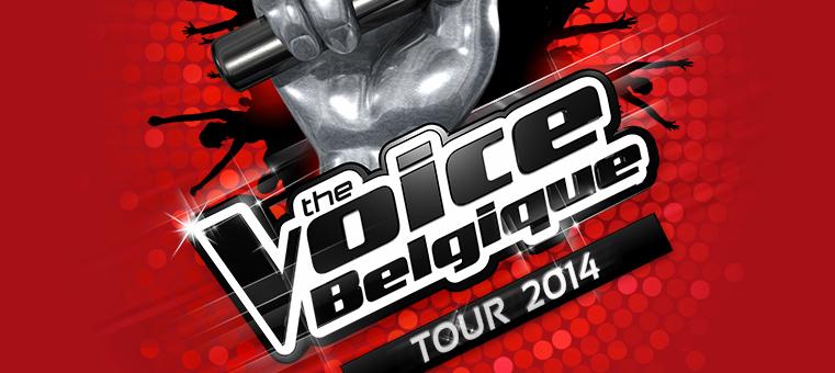 The Voice Belgique - Tour 2014