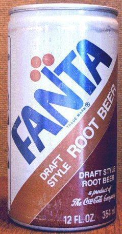Fanta Root Beer