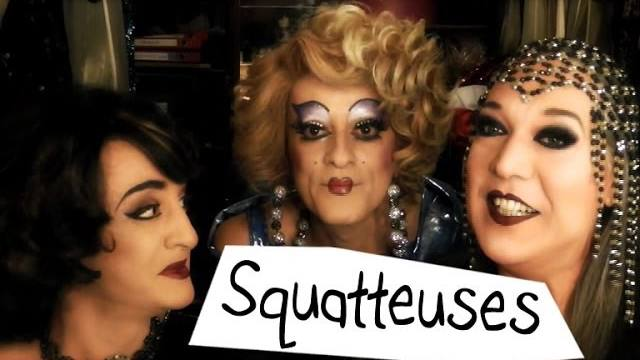 BOOP ET EDNA SONT SUR YOUTUBE : Squatteuses