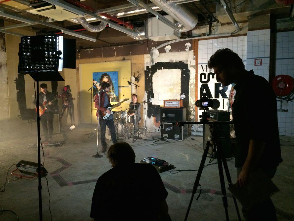 KAIJU tourne son premier clip au Mister Emma Art Loft !