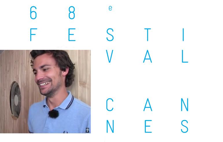 CANNES 2015 : Mon baiser de cinéma à Bertrand Chameroy (TPMP)