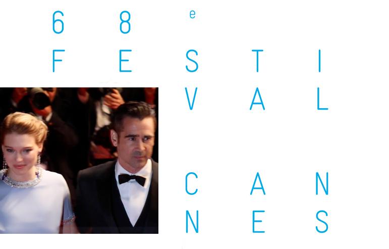 CANNES 2015 : Colin Farrell est aux petits soins pour Léa Seydoux