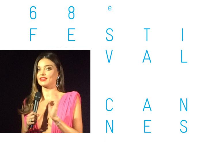 CANNES 2015 : Miranda Kerr, l'égérie de charme de Magnum