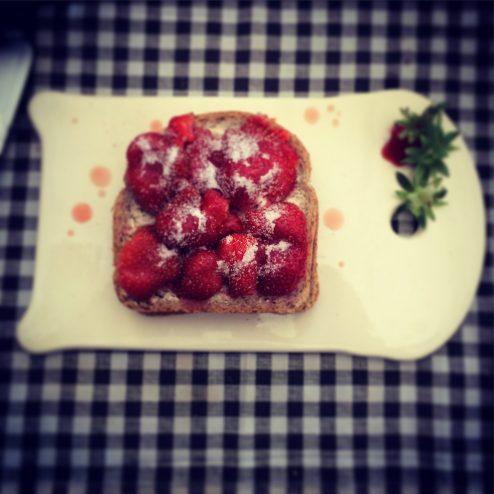 Tartine-de-fraises
