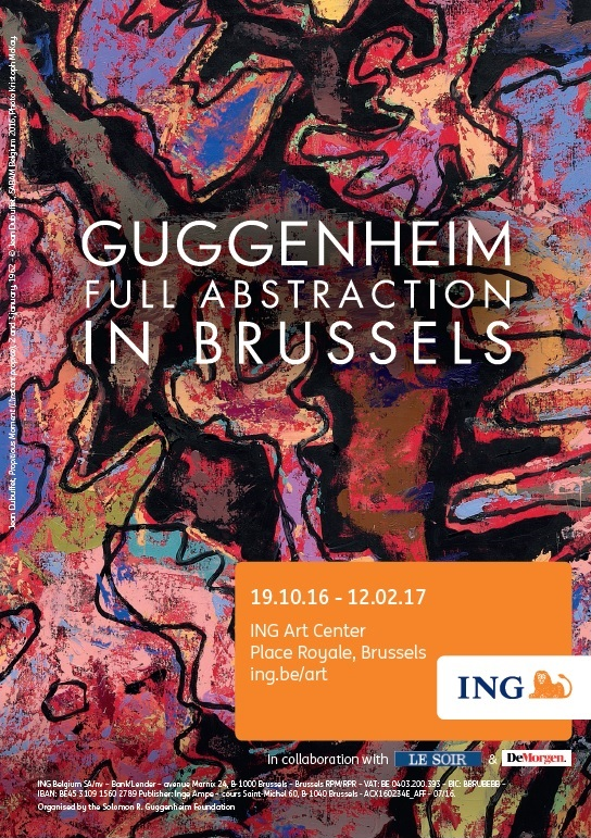 Guggenhein Full Abstraction - Affiche