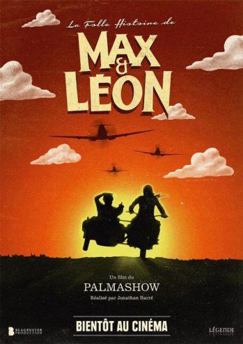 La Folle Histoire de Max et Léon - Affiche du film