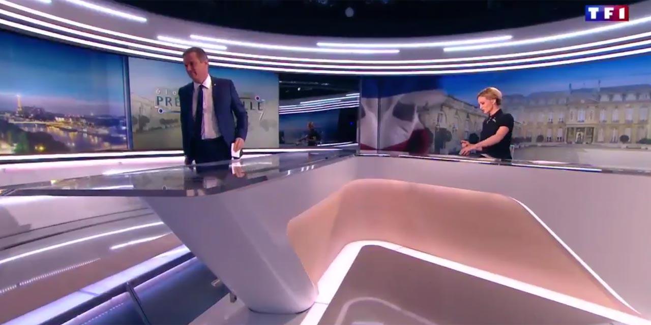 NICOLAS DUPONT AIGNAN quitte le plateau de TF1
