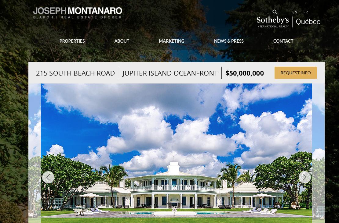CELINE DION vend enfin Jupiter Island pour 33 millions d'euros
