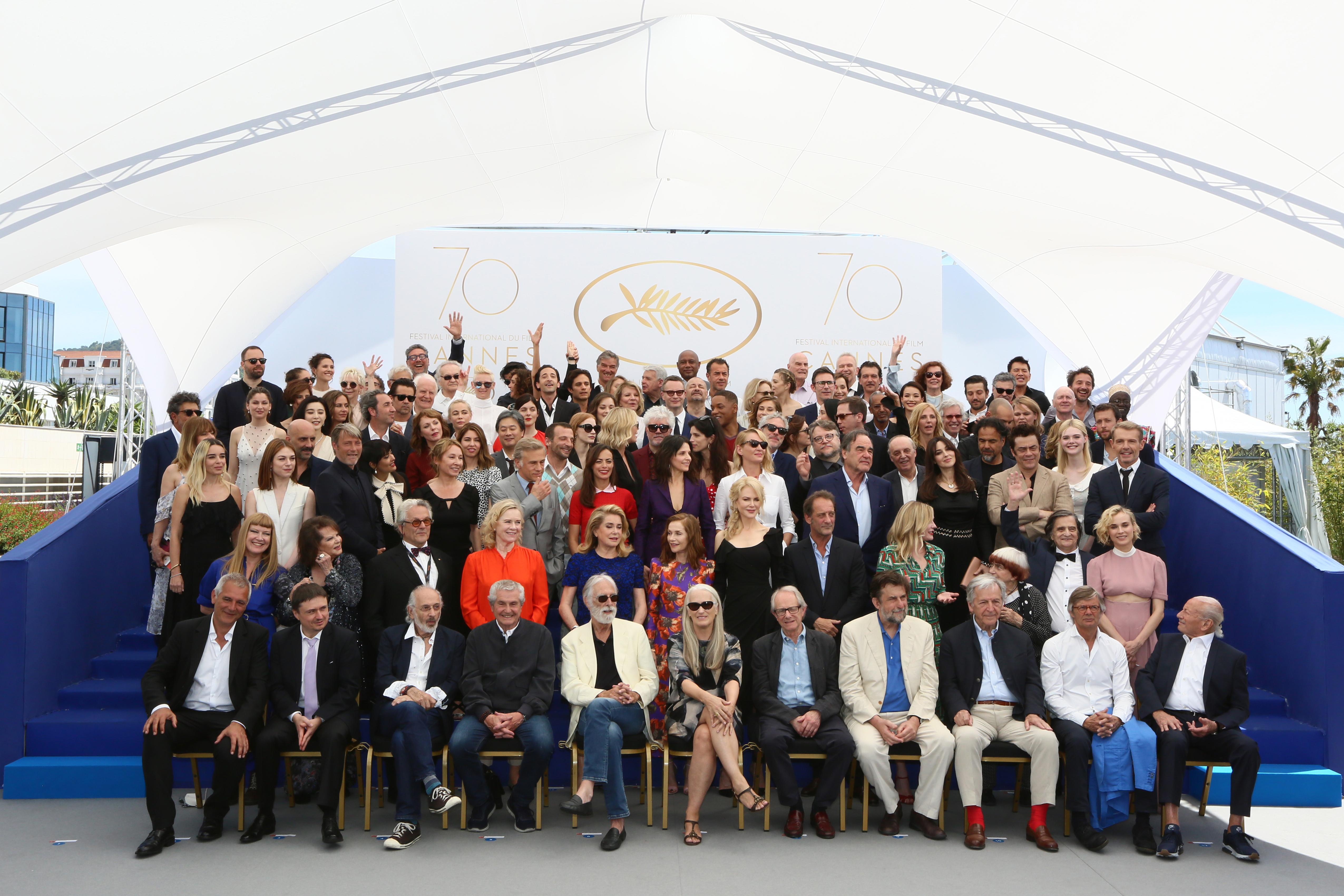 CANNES 2017 : Une montée des marches historique pour le 70ème anniversaire