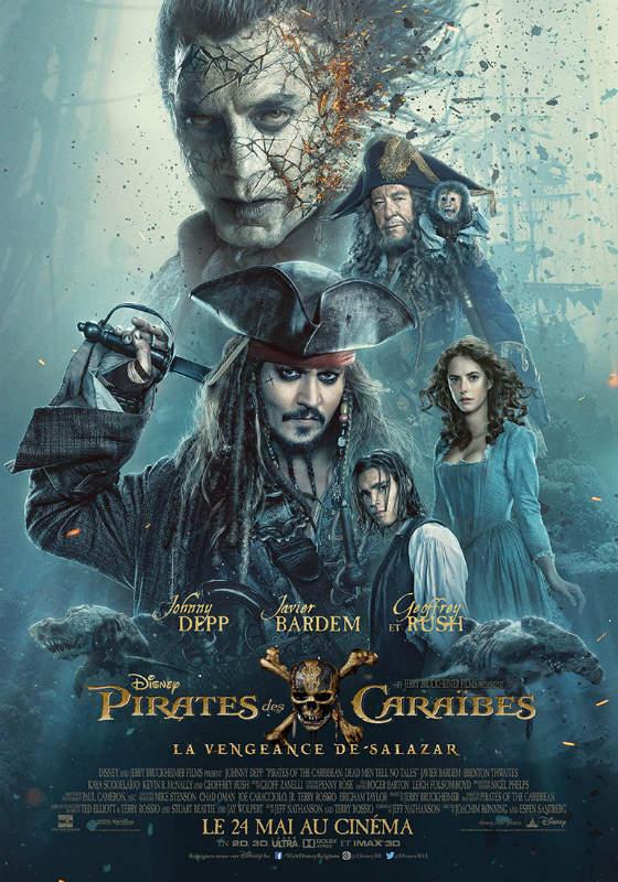 BOX OFFICE : «Les Pirates des Caraïbes» restent au top