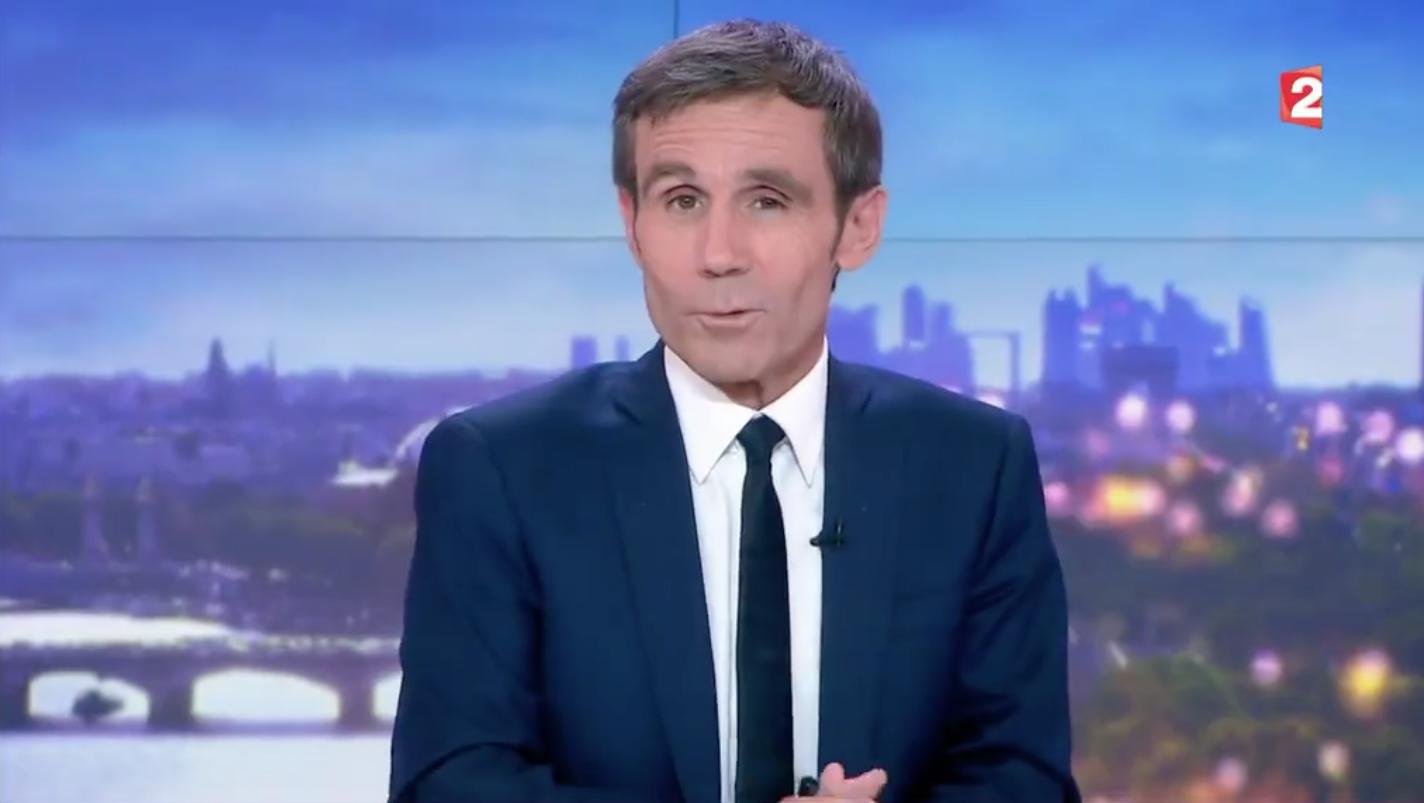 DAVID PUJADAS : Grosse émotion pour son départ du Journal de France 2