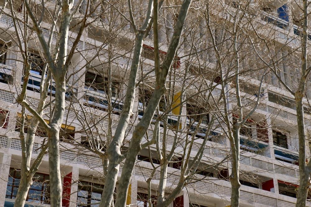 LE CORBUSIER : Cité radieuse de Marseille