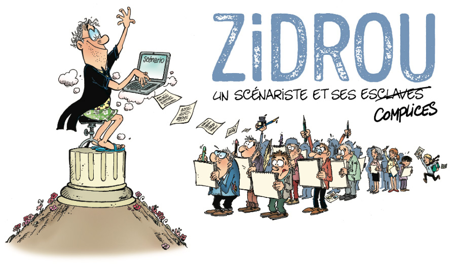 EXPO : Zidrou, un scénariste et ses complices