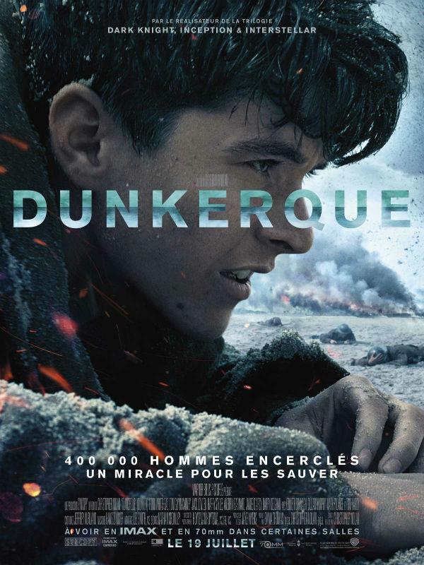 CINEMA : «Dunkirk» (Dunkerque) de Christopher Nolan