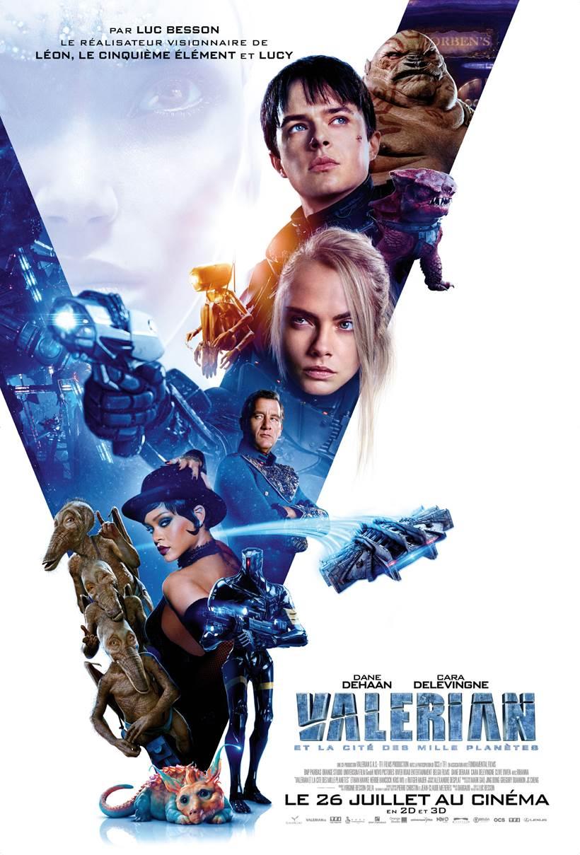 CINEMA : «Valerian et la cité des mille planètes» de Luc Besson