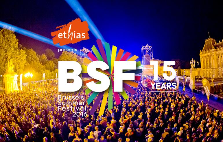 BSF 2016 : Les artistes belges à l'honneur